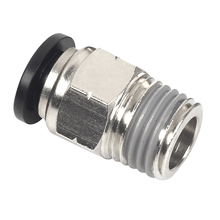 Push to Connect Fittings for Metric Tube NPT Thread Male Straight